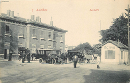 ANTIBES-la Gare Et L'octroi - Antibes - Vieille Ville