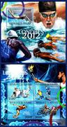 BURUNDI. OLYMPIC 2012. FOOTBALL JUDO CYCLING  .. SHEET+SS**