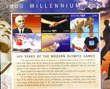 SA0441 Bhutan 2000 Modern Olympics S/s MNH - Bhutan
