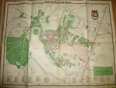 Karte Der Kreisstadt Flatow 30er Jahre - 52cm X 67cm - Entwurf Bürgermeister Brandt- Verlag Erich Hoffmann (Flatower Zei - Topographische Karten