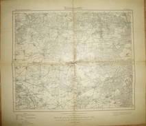 Karte Des Deutschen Reiches - 315 Loburg - Maßstab 1:100'000 - Umdruckausgabe! 1919 - Topographische Karten