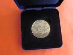 """1993 TELETHON Médaille,Monnaie De Paris"""" Le Meilleur De Nous Même"""" """"des Gènes Pour Guérir"""" Sous écrin Port Offert.. - France"""