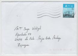 B275  BELGIEN - BRIEF MIT / Europa Tarif 2017 - Belgium