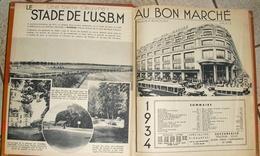 Agenda Du BON  MARCHE De 1934 - Books, Magazines, Comics