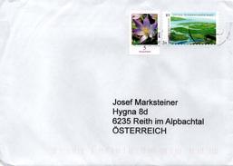 Auslands - Brief Von Briefzentrum 16 Mit 90 Cent Mischfrankatur 2016 - BRD