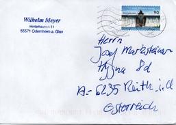 Auslands - Brief Von Briefzentrum 65 Mit 90 Cent 2016 - BRD