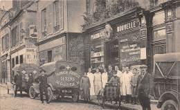 89 - YONNE / Sens - La Pharmacie Nouvelle - 36 Grande Rue - Superbe Animation - Sens
