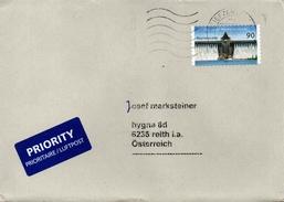 Auslands - Brief Von Briefzentrum 44 Mit 90 Cent 2016 - BRD