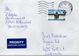 Auslands - Brief Von Briefzentrum 82 Mit 90 Cent 2016 - BRD