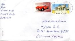 Auslands - Brief Von Briefzentrum 10 Mit 150 Cent Mischfankatur 2016 - BRD