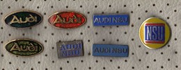 Lot 7 Pins AUDI,Cars - Audi