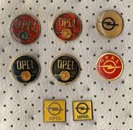 Lot 8 Pins OPEL,Cars - Opel