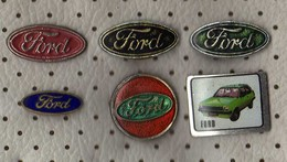 Lot 8 Pins FORD,Cars - Ford