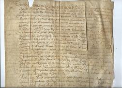 1667-Vélin-4 Pages - Manuscrits