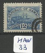HAW Sc 78  YT 67 - Hawaï