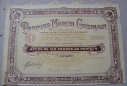 PARFUMS MARCEL GUERLAIN Parfum Parfumerie - Industrie