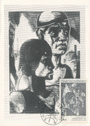 D28548 CARTE MAXIMUM CARD 1971 CZECHOSLOVAKIA - BY KOLOMAN SOKOL CP ORIGINAL