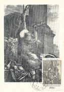D28549 CARTE MAXIMUM CARD 1971 CZECHOSLOVAKIA - BY VACLAV HOLLAR CP ORIGINAL