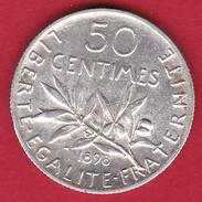 France 50 Centimes Semeuse 1898 - SUP - France