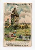 Chromo - Chocolat Louit - Les Ruines Historiques De France - Charolles - Louit