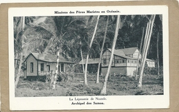 ARCHIPEL  DES  SAMOA   LA  LEPROSERIE DE NUUTELE - Samoa