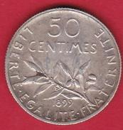 France 50 Centimes Semeuse 1899 - SUP - France