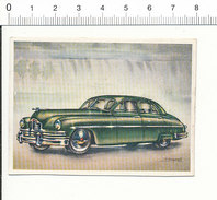 Chromo Cigarettes Virginia Full Speed / Voiture Automobile Packard Golden Anniversary 1949  Vieux Tacots  / IM 01-car-5 - Cigarrillos