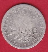 France 50 Centimes Semeuse 1900 - France