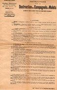 VP7538 - PARIS - Affichette - Institut PASTEUR - LABPASTEUR - Instruction Pour La Destruction Des Campagnols & Mulots - Posters