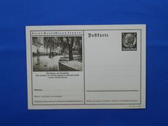 Postal Stationery, Zwaan, Swan, Deutsches Reich
