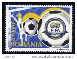 ROMANIA 2004 Centenary Of FIFA  MNH / **.  Michel 5837 - 1948-.... Republics