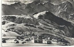 L'ALPE-D'HUEZ . VUE GENERALE . SIGNAL DE L'HOMME . AFFR AU VERSO EN 1958 . 2 SCANES - Francia
