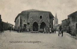 57 HATTONCHATEL  Der Ludwigsplatz - Otros Municipios