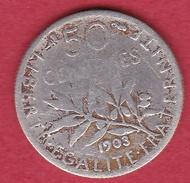 France 50 Centimes Semeuse 1903 - G. 50 Centimes