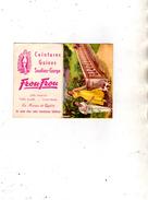 Calendrier Dépliant à 2 Volets - Frou-Frou  Jolis Dessous Soutien-gorge Gaine Ceinture - 1959 - Calendriers
