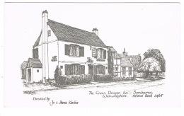 RB 1142 -  Adverting Card - The Green Dragon Inn Sambourne Astwood Bank Warwickshire Near Redditch Worcestershire - Advertising