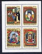 HUNGARY 1970 Stamp Day: Art  Block MNH / **.  Michel Block 77 - Blocks & Sheetlets