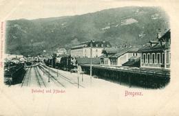 AUTRICHE(BREGENZ) GARE - Bregenz