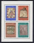 HUNGARY 1969 Stamp Day  Block MNH / **.  Michel Block 73 - Blocks & Sheetlets
