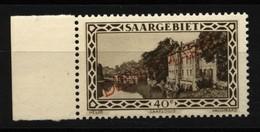Saar ,Dienst,27 XI,xx,gep.Geigle BPP - 1920-35 Saargebiet – Abstimmungsgebiet