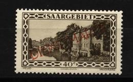 Saar ,Dienst,27 XIV,xx,gep.Geigle BPP - 1920-35 Saargebiet – Abstimmungsgebiet