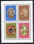 HUNGARY 1968 Stamp Day Block MNH / **.  Michel Block 66 - Blocks & Sheetlets