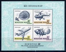 HUNGARY 1967 AEROFILA '67 Exhibition Block MNH / **.  Michel Block 59 - Blocks & Sheetlets