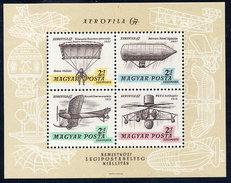 HUNGARY 1967 AEROFILA '67 Exhibition I Block MNH / **.  Michel Block 57 - Blocks & Sheetlets
