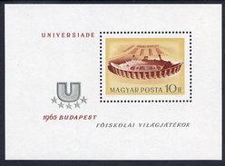 HUNGARY 1965 Universiade Games  Block MNH / **.  Michel Block 50 - Blocks & Sheetlets