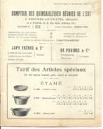 25 - Fesches-le-Chatel - Catalogue Comptoir Des Quincailleries Réunies De L'Est - Other