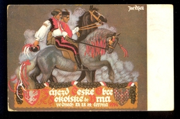 Illustrated Postcard For The Occasion Of Sokolstva V Brne / Postcard Circulated - Postales