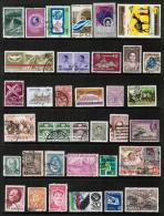 WORLDWIDE---Collection Of USED DL-273 - Stamps