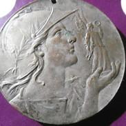 Medaille  Bronze  Diametr  5 Cm  Inscription  Au Verso  Arras  1926 - Altri