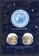 HUNGARY 1963 Vostok Space Flights  Block MNH / **.  Michel Block 38 - Blocks & Sheetlets